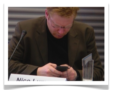 Texting at the Meeting