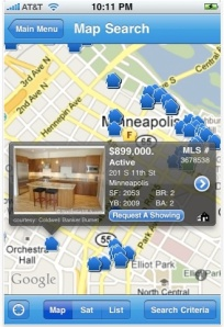 Mobile Home Search Map